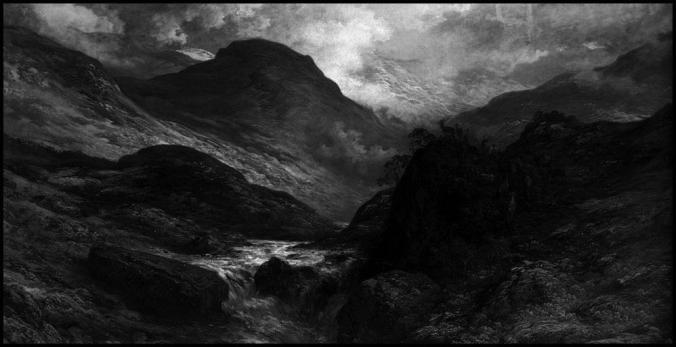 IMG02 - Arte de Gustave Doré. Aqui utilizada para representar a paisagem acidentada de Belghor